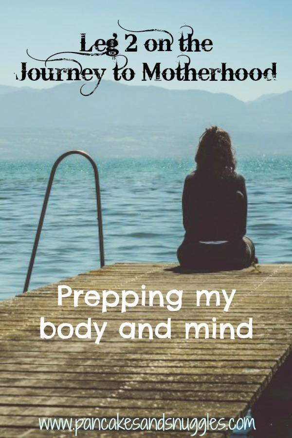 Leg 2 on the Journey to Motherhood