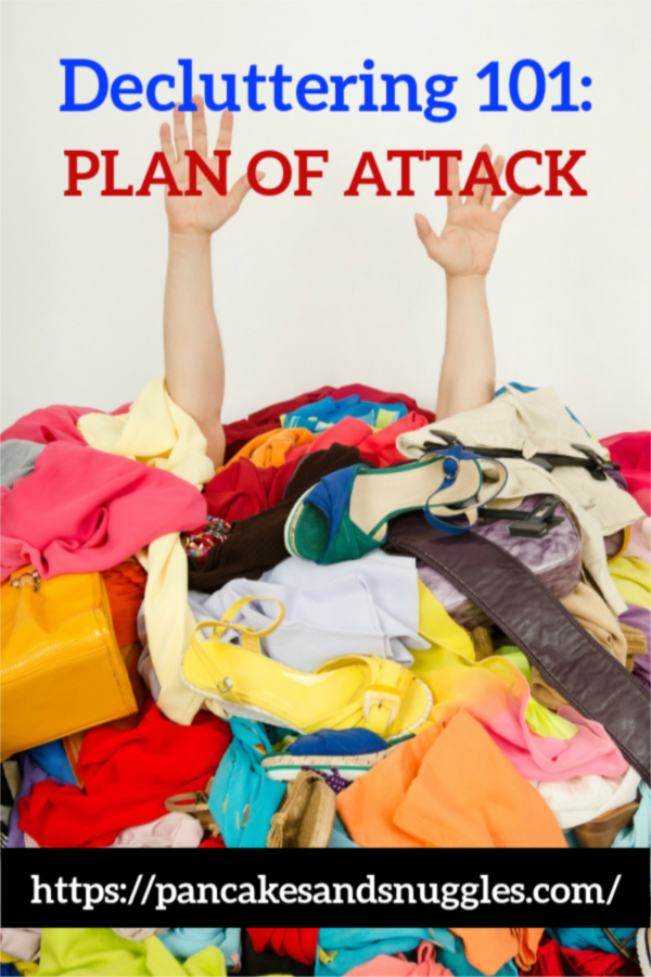 Decluttering 101: Plan of Attack