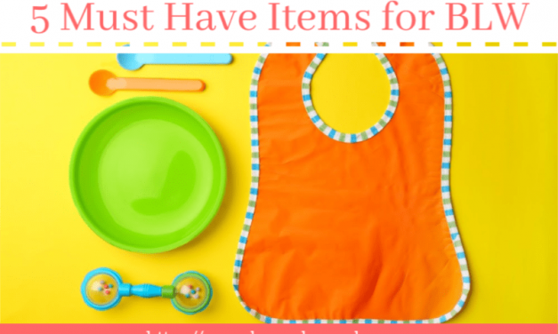 5 Must Have Items for Baby-Led Weaning