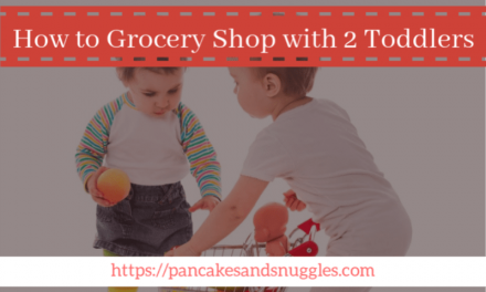 How to Grocery Shop with 2 Toddlers