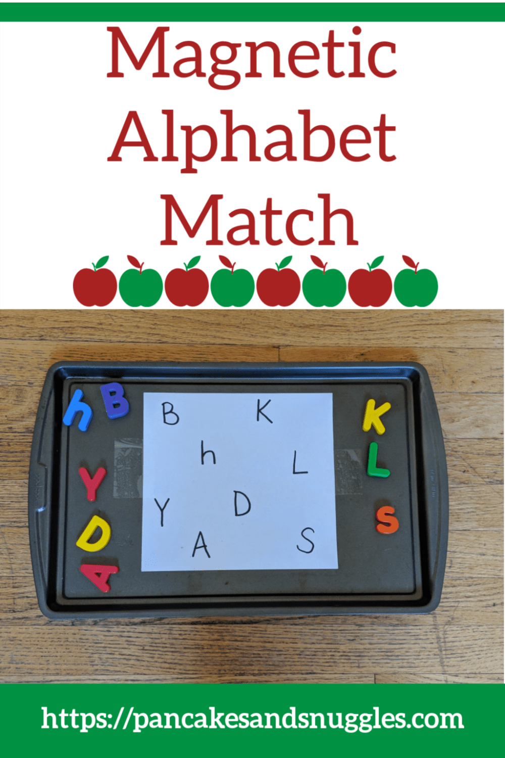 Magnetic Alphabet Match