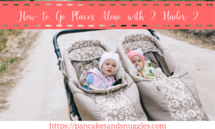 How to Go Places Alone With 2 Under 2