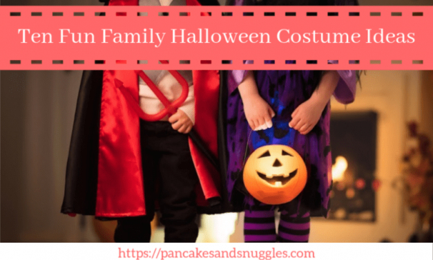 Ten Fun Family Halloween Costume Ideas