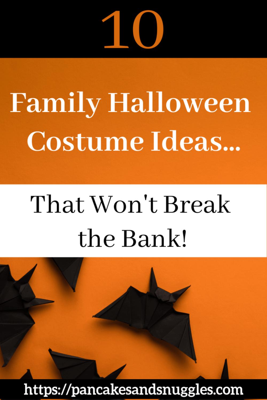 Ten Fun Family Halloween Costume Ideas