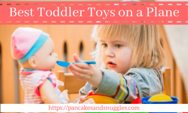 Best Toys for Toddlers on a Plane