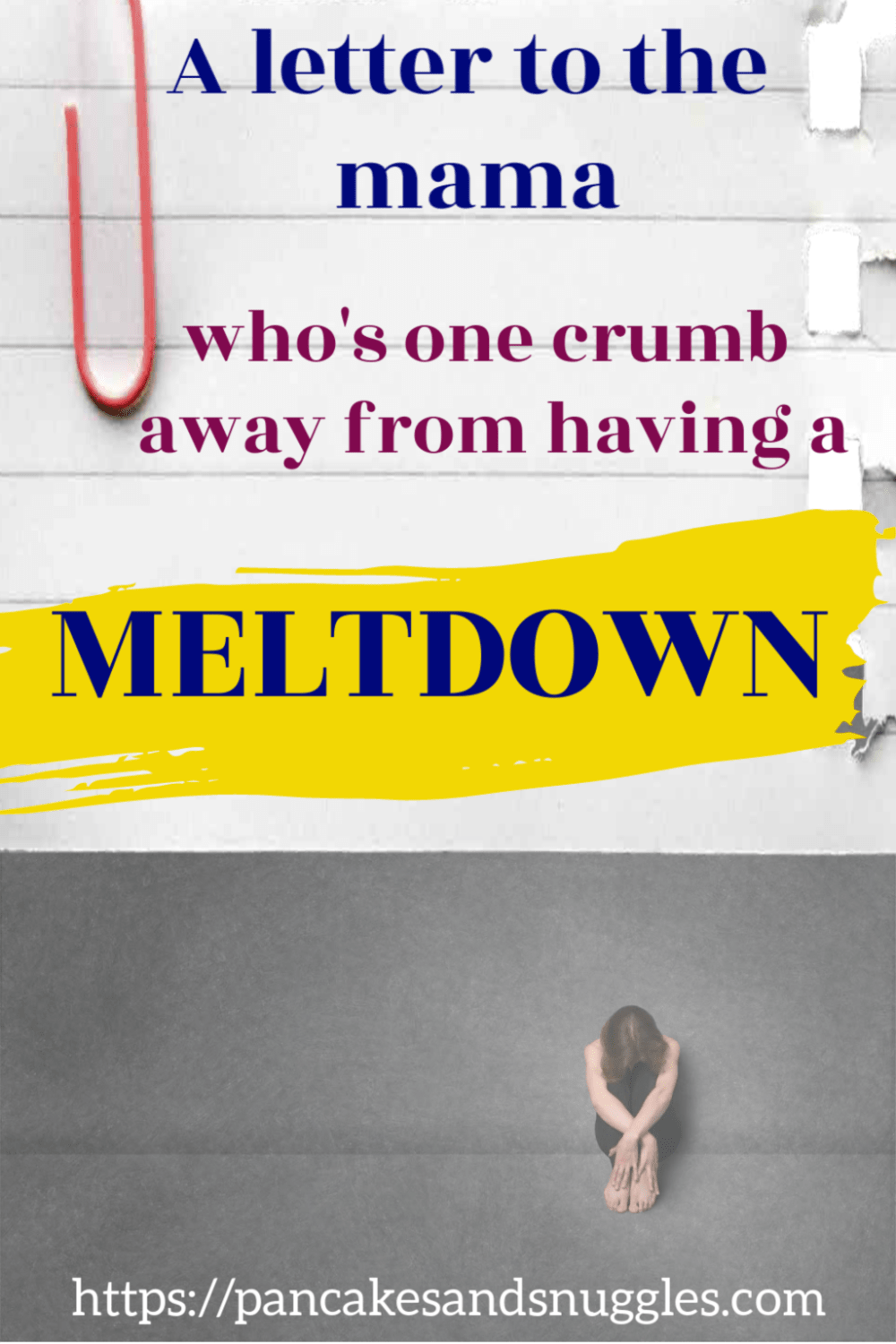 Mama, are you one crumb away from a meltdown? Feeling overwhelmed and tired? You are not alone!