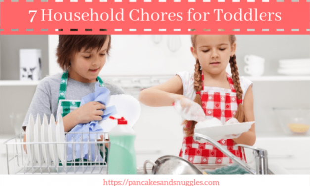 7 Household Chores for Toddlers