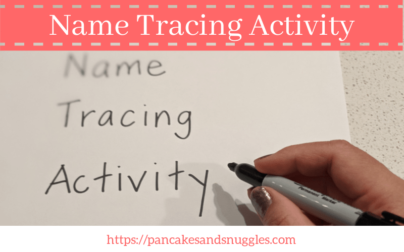 Name Tracing Activity